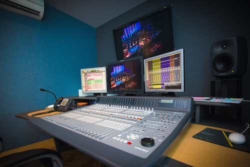 Dubbing room in Timeline Soho