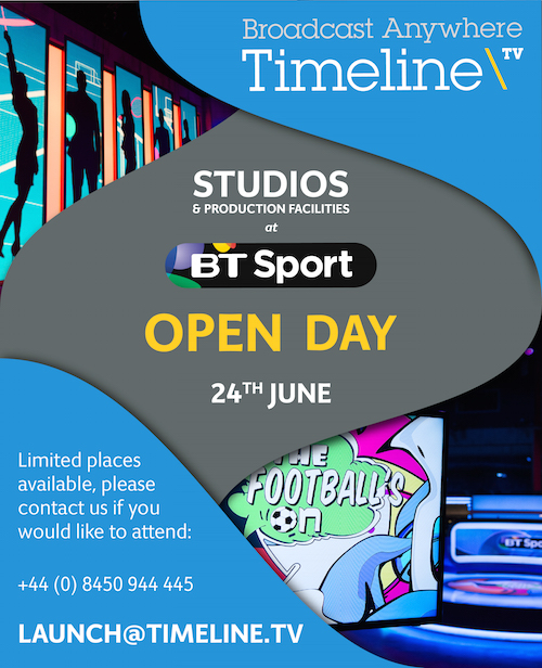Studios and Production Facilities Open Day
