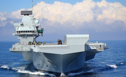 Post-production facilities for Britain's Biggest Warship ...
