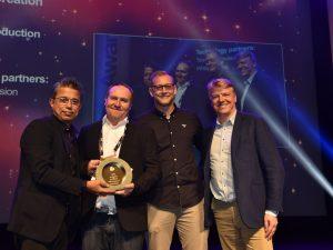 IBC Innovation Content Creation Winner SailGP
