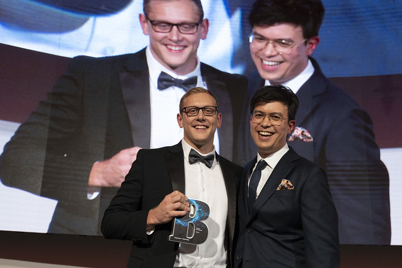 David Harnett wins Young Talent at Broadcast Tech Awards