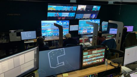 SailGP in Timeline's Ealing Broadcast Centre gallery