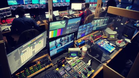 SailGP in Timeline's Ealing Broadcast Centre